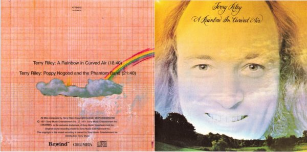 Terry Riley - A Rainbow In Curved Air - Front