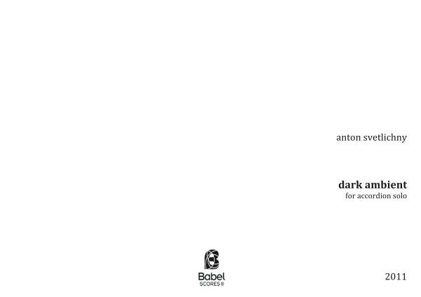 Dark Ambient Anton Svetlichny -  (2011)z